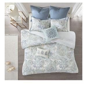 🆕️ 8 Pcs 100% Hypoallergenic King Size Comforter